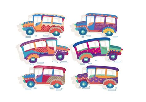 philippines jeepney clipart jeepney vector free vector stock