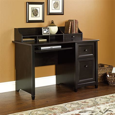 computer desk that hides everything edge water computer desk 409043 sauder