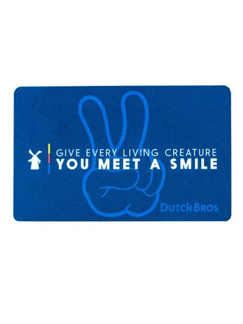 Coffee Gift Cards - dutch bros coffee gift cards dutchwear