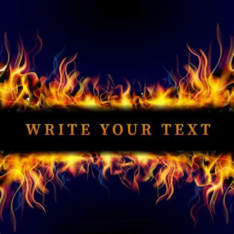 template of flames 15 vector for free designyep