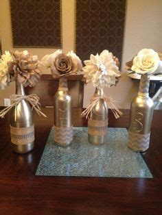 empty wine bottle crafts painted empty wine bottles covered with
