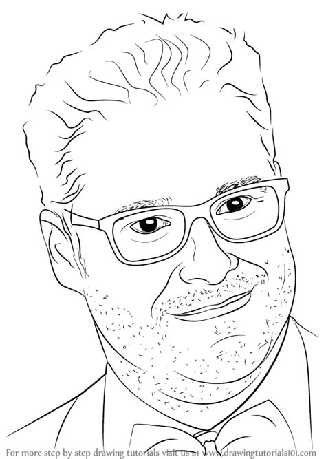 Learn How to Draw Seth Rogen (Celebrities) Step by Step