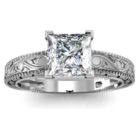 best 25 antique style engagement rings ideas on