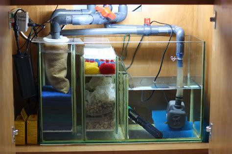 aquarium pump design hmf style mechanical filtration in sump