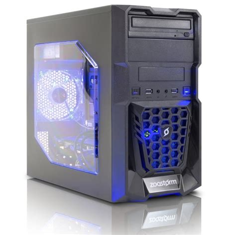 Komputer Rakitan Gaming Design Amd A10 7860k Setara Intel I7 zoostorm gaming media desktop pc intel i7 4790 processor 8gb ram 2tb hdd 120gb ssd