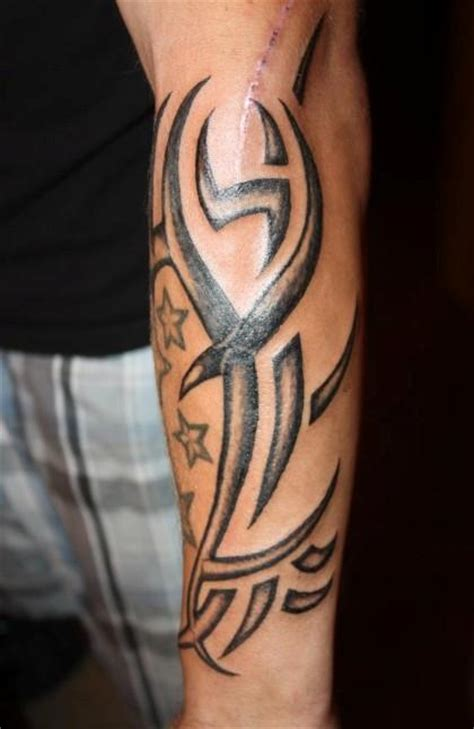 lower arm sleeve tattoos for men 22 interesting tribal forearm tattoos only tribal