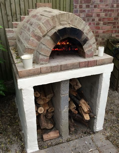 backyard pizza oven diy homemade easy outdoor pizza oven diy youtube