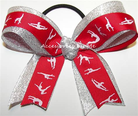 ribbon for hair that says gymnastics ribbon for hair that says gymnastics personalized