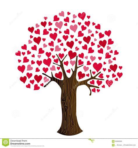 clipart san valentino cuori di san valentino su clipart dell albero