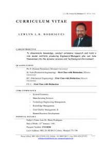 resume model cv resume template exles sle resume