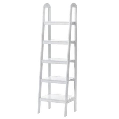 loop ladder bookshelf antique white target
