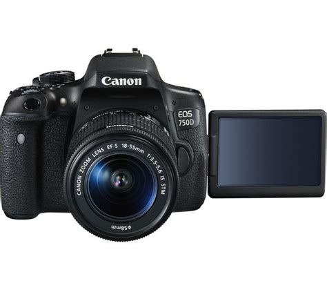 canon 750d buy canon eos 750d dslr with ef s 18 55 mm f 3 5 5