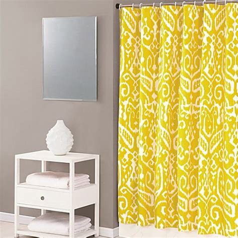 trina turk shower curtain buy trina turk 174 ikat 72 inch x 72 inch shower curtain in