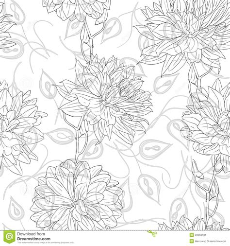 hand drawn wallpaper hand drawn floral wallpaper stock image image 23359101