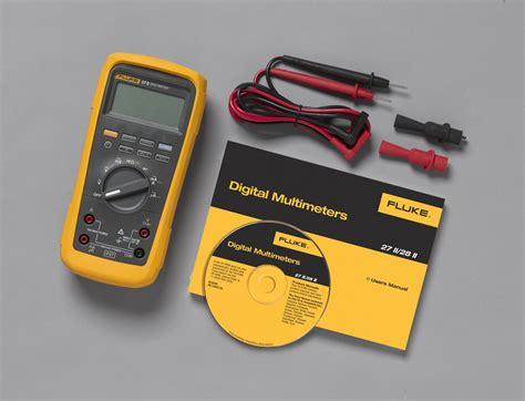 Jual Fluke 28 Ii Rugged Ip 67 Industrial Multimeter fluke 27 ii and 28 ii industrial multimeters cetm