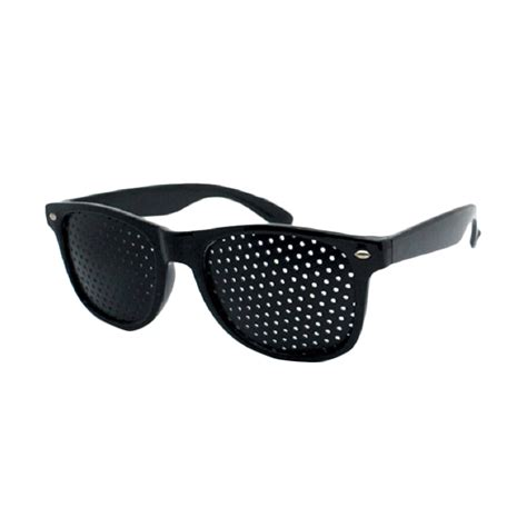 Pinhole 01 Kaca Mata Therapi Kesehatan jual sagadiju kacamata terapi pinhole alat kesehatan harga kualitas terjamin blibli