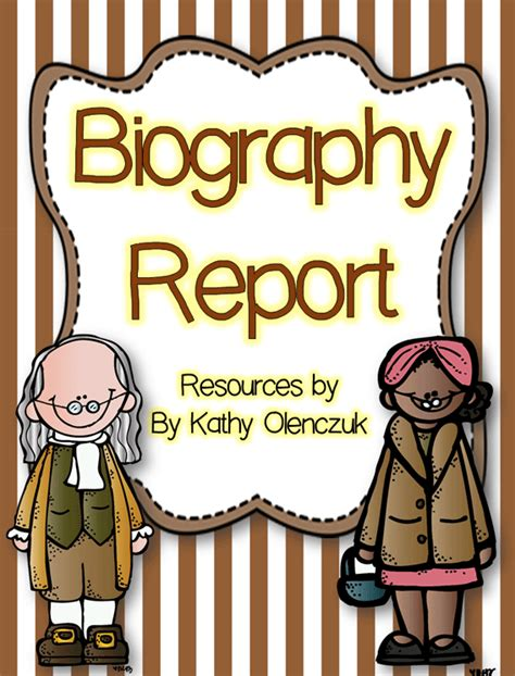 biography book report cover page biography clip art clipart panda free clipart images