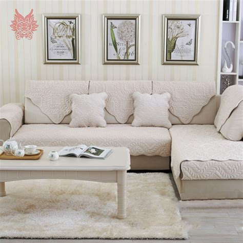 Home Decor Shabby Korean Four Season Sofa Cover 7570 Alas Sofa ᗖbeige grey floral quilted ᗗ plush plush sofa cover slipcovers furniture covers φ φ sectional