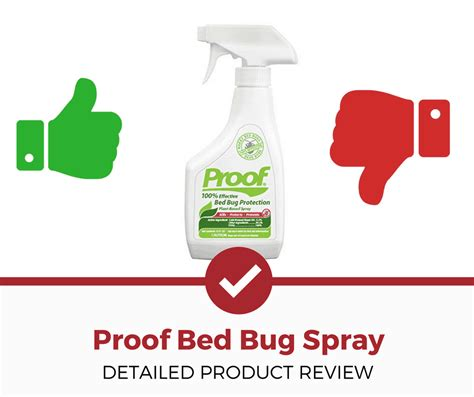 proof bed bug spray reviews proof bed bug spray in depth review pest strategies