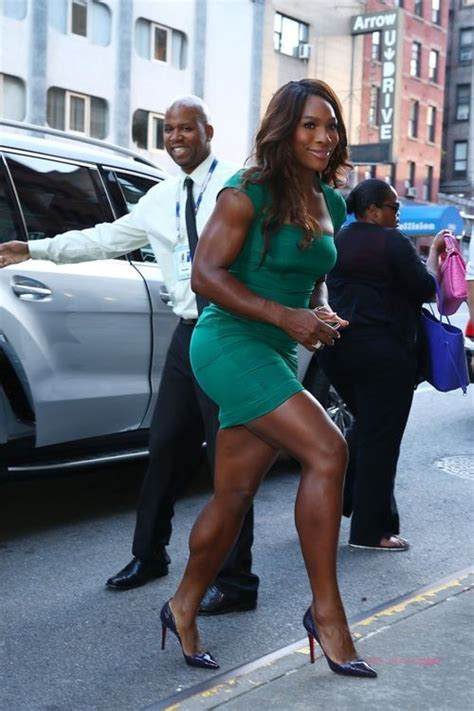 Black Women Body Image News Articles 2013 | serena williams quot strong legs like serena quot pinterest