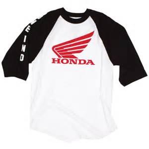 Honda Shirts One Industries Honda Strike Baseball T Shirt Motosport