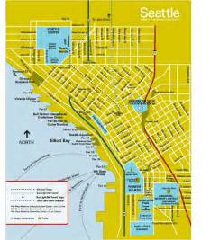 Pier 91 Seattle Map by Map Downtown Seattle Seattle Pinterest
