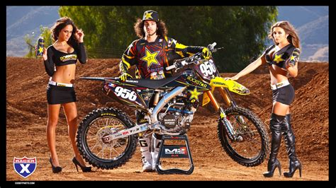 girls motocross rockstar energy racing wallpapers racer x online