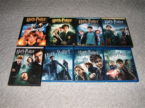 Dvd Harry Potter Collection harry potter dvd collection by aarion23 on deviantart