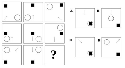 pattern logic test abstract reasoning 4 free practice tests with diagrams