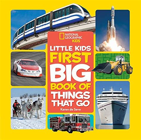 National Geographic Little Kids Word Book Learning The