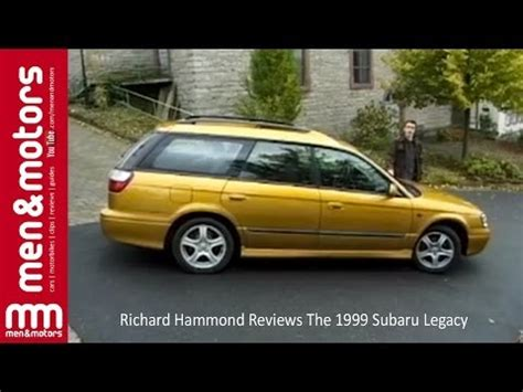 top gear subaru legacy richard hammond reviews the 1999 subaru legacy how to