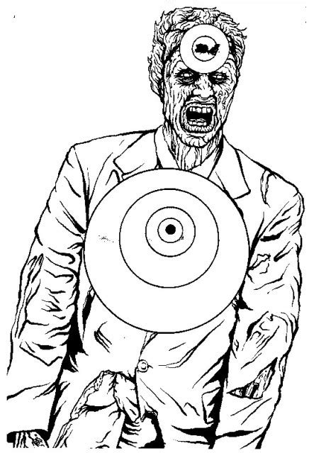 printable archery targets zombie free targets download page 3 random pins pinterest