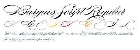 burgues script tattoo font generator burgues script regular fonts com