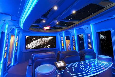 pics of the best wars inspired home theaters