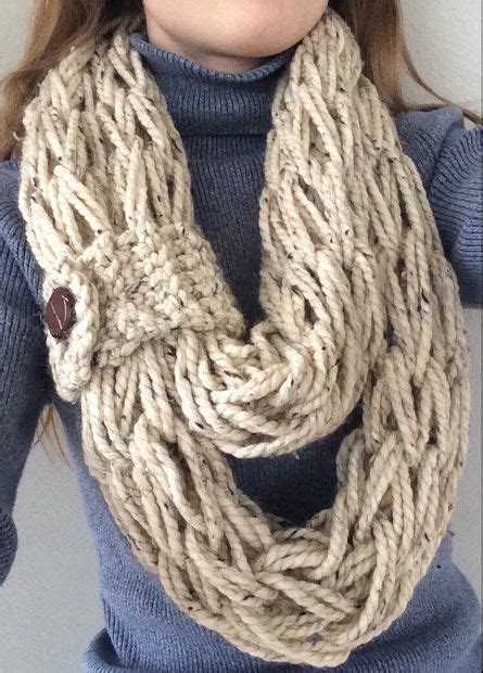 arm knitting scarf step by step how to arm knit step by step all
