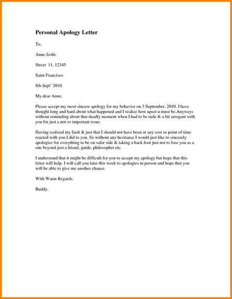 Apology Letter To For Dishonesty best ideas of 10 apology letter to for