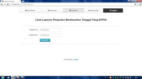 setup codeigniter xp aplikasi penjualan sederhana dengan codeigniter dunia
