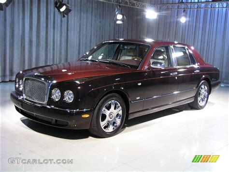 velvet bentley 2005 burgundy black velvet bentley arnage r mulliner