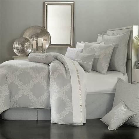 grey bed linens waterford bedding comforters bed linens by waterford