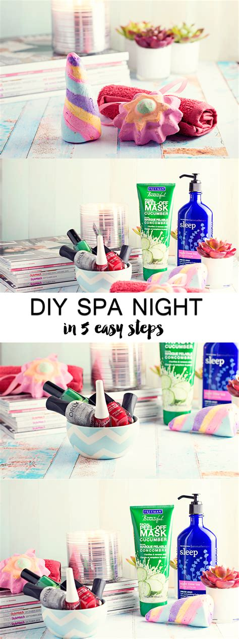 day at home ideas diy spa a lush experience hairspray and highheels