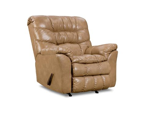 Sears Leather Recliners by Simmons Upholstery Bonded Leather Recliner Shop Living Room Furniture At Sears