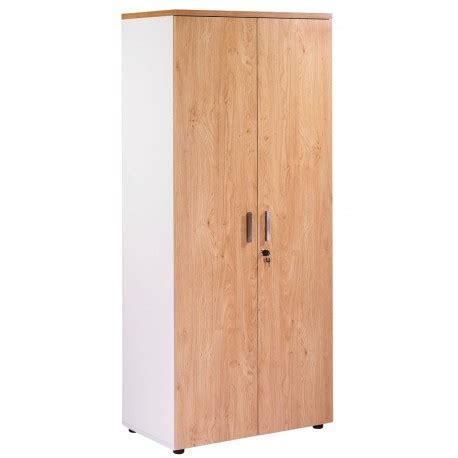 armoire de bureau m騁allique armoire de bureau 2 portes blanche ch 234 ne clair ineo