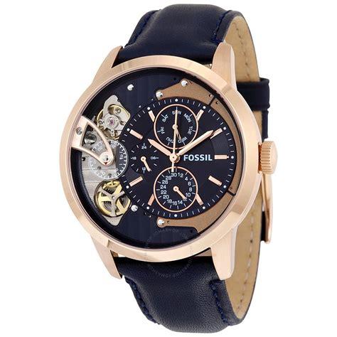 Jam Tangan Fossil Me1138 Townsman Navy Blue fossil watches worldefashion