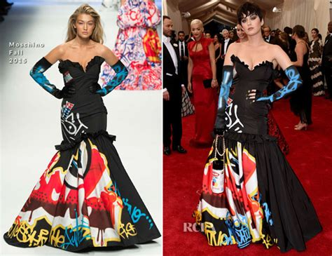Moschino Kate Y katy perry in moschino 2015 met gala carpet