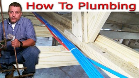 Runtal Piping Diagram by Pex Pipe Plumbing 3 Of 8 Pex Stub Out Set Up And Hang