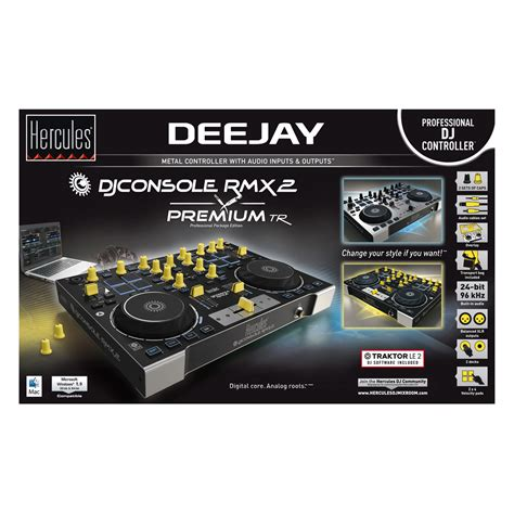 hercules dj console rmx 2 prezzo woodbrass