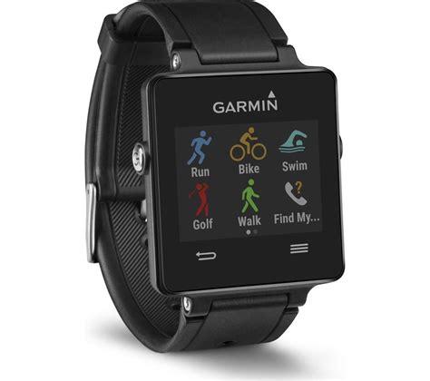 garmin vivoactive gps smartwatch black deals pc world