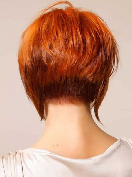 bob tapered sides and back 24 really cute short red hairstyles styles weekly