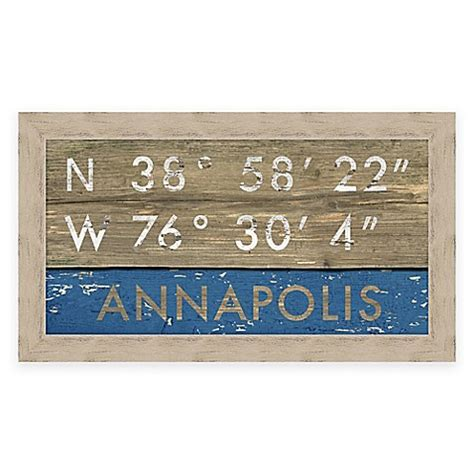 bed bath and beyond annapolis buy annapolis md coordinates framed wall art from bed