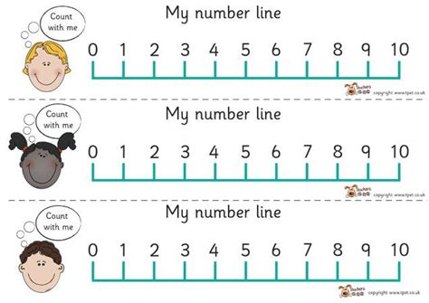 math aids printable number line 1000 images about number line resource on pinterest